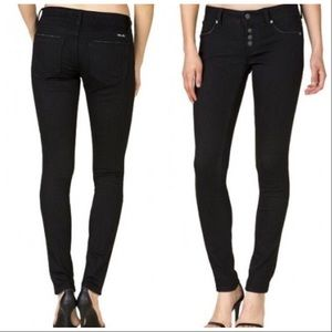 Miss Me | Black Button Fly Skinny Jeans